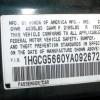 Image for 2000 Honda Accord