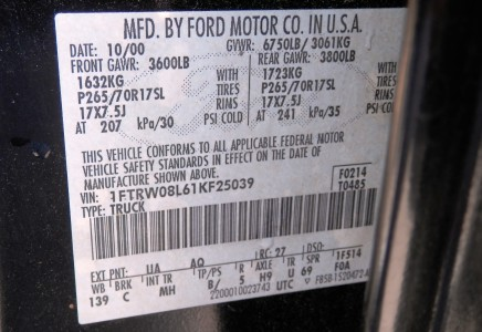 2001 Ford F150 Lariat 4×4 - Vinson Auto Group